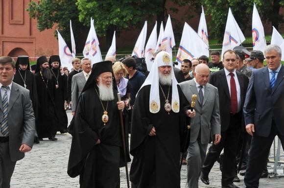 Патриарх Варфоломей в России