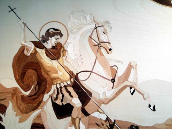 Святой Великомученик Георгий Победоносец — святой из Ливанских гор