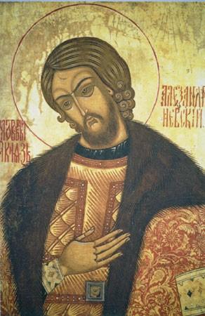 Святой благоверный князь Александр Невский. Икона 7