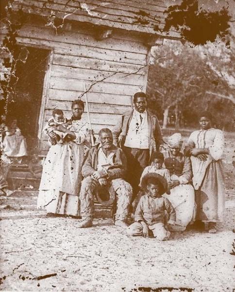 Пять поколений рабов, Южная Каролина