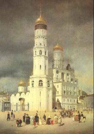 Колокольня Ивана Великого Николо-Гостунского собора
