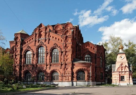 Храм Всемилостивого Спаса б. Скорбященского монастыря