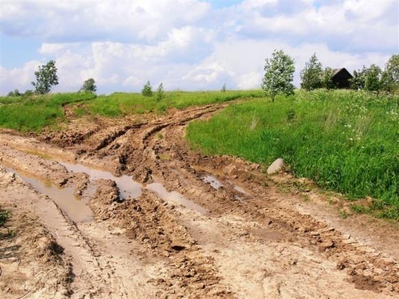 Дорога на ферму