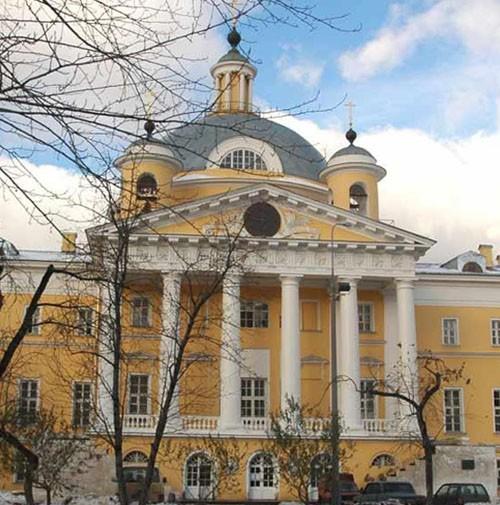 Храм царевича Димитрия в Москве при 1-ой градской больнице