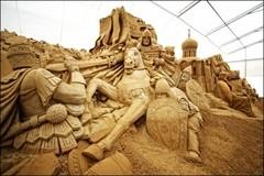 Выставка монументальной скульптуры из песка «Святая Русь»