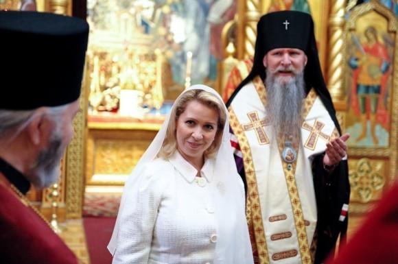 Визит Светланы Медведевой в Сан-Франциско кафедральный собор Пресвятой Богородицы Всех скорбящих Радости (Русской Зарубежной Церкви).