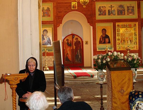 Ольга Петровна на конференции памяти отца kadashi.ru
