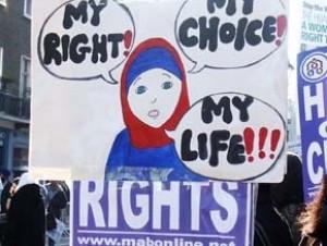 """""""Хиджаб - моё право! Мой выбор! Моя жизнь!!!"""""""