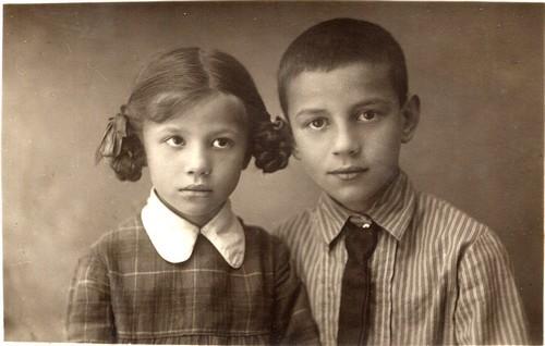 Лида и Женя Амбарцумовы