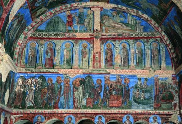 «Алтарь X века в «Церкви с пряжкой» в Гёреме»