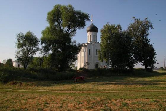 Святой благоверный князь Андрей Боголюбский. Храм Покрова на Нерли
