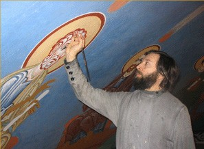 Протоиерей Николай ЧЕРНЫШЕВ, клирик храма Святителя Николая в Кленниках, иконописец, член Патриаршей искусствоведческой комиссии