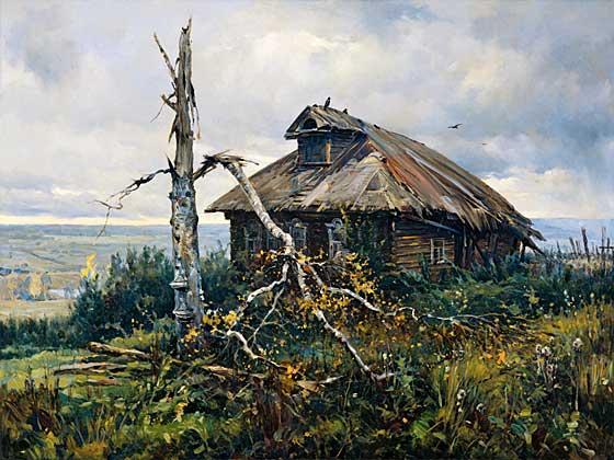 """""""Забытые"""" Холст, масло, 150 х 200 см, 2003 г."""