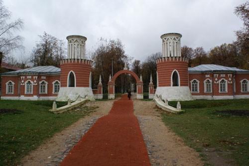 Ворота Воронцовской усадьбы