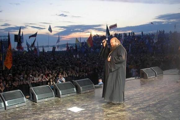 Игумен Сергий (Рыбко): проповедь на рок-концерте