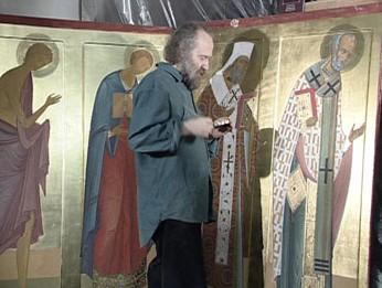 Иконописец Александр Лавданский