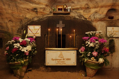 Псково-Печерский монастырь. Архимандрит Иоанн