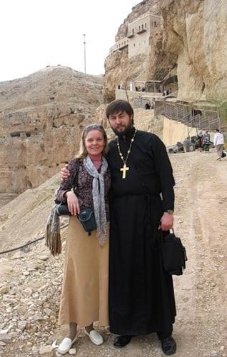 Отец Григорий Чекменев с супругой Ольгой