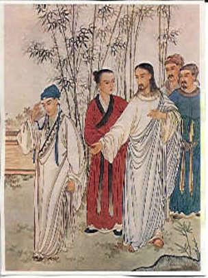 Притча о богатом юноше - изображение в китайской традиции