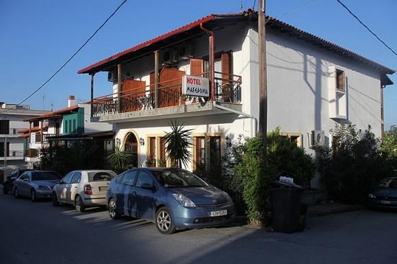 """Отель """"Македония"""" утром"""