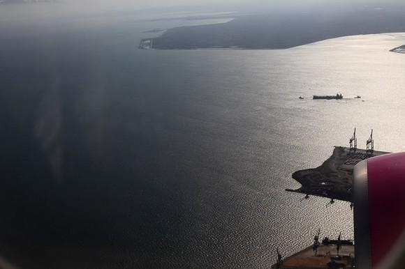 На подлете к Салоникам
