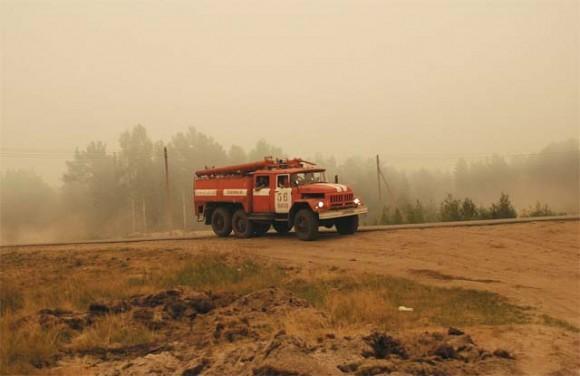 В тушении участвовали не только выксунские пожарные, но и их колеги из Нижнего и Москвы.
