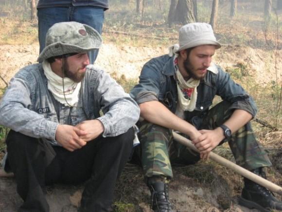 Отец Стефан и Николай Домусчи