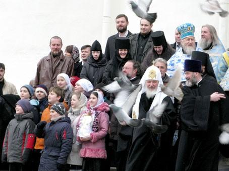 Благовещение 2010. Фото: Патриархия.ру