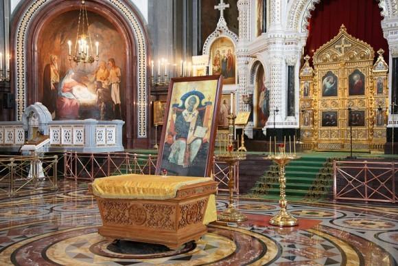 Мощи святителя Спиридона в Москве