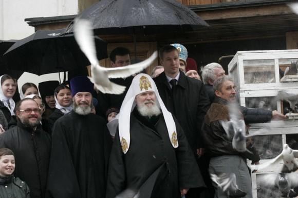 Благовещение 2008. Патриарх Алексий. Фото: Патриархия.ру