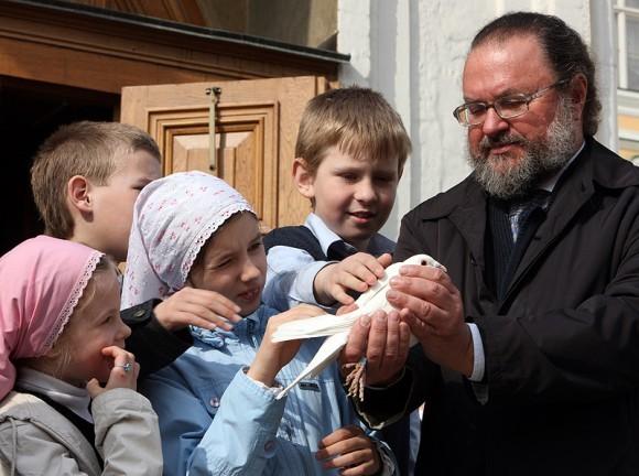 На Благовещение 2010. Фото Патриархия.ру
