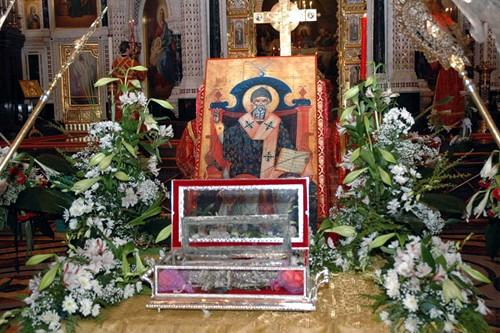 Мощи святителя Спиридона