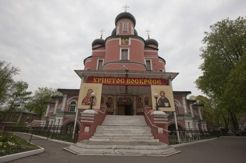 Донской монастырь. Большой собор Донской иконы Божией Матери.