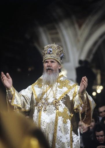 Интронизация Патриарха Алексия II. Фото: РИА Новости