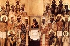 Святители Московские – вслед за Матерью Божией