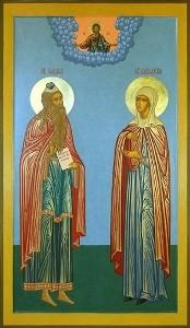 Свв. правв. Захария и Елисавета