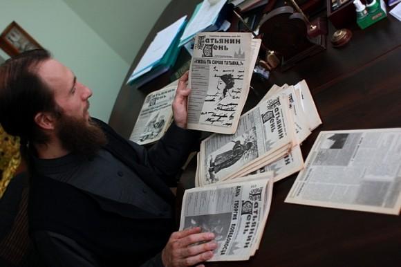 Первый главный редактор газеты «Татьянин день» - ныне иеромонах Симеон (Томачинский)