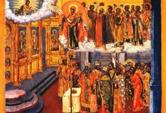 Русский праздник Покров