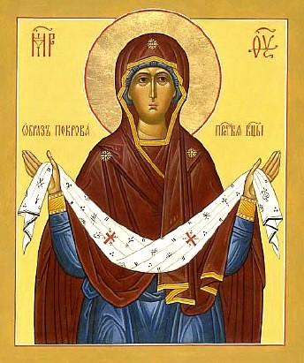 Образ Покрова Пресвятой Богородицы