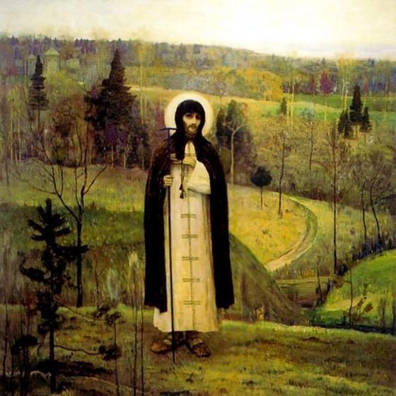 Преподобный Сергий Радонежский. Нестеров М.В.