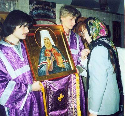 Первые богослужения в Татьянинском храме. Фото: st-tatiana.ru