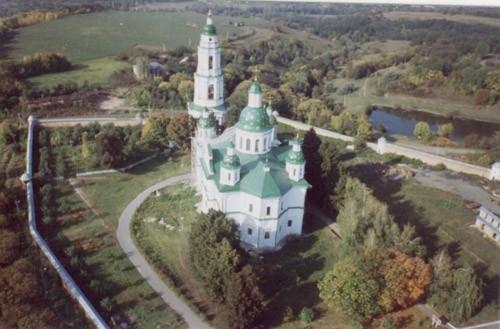 Вид Мгарского мужского монастыря.