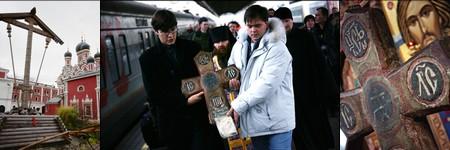 Соловецкий крест в Москве