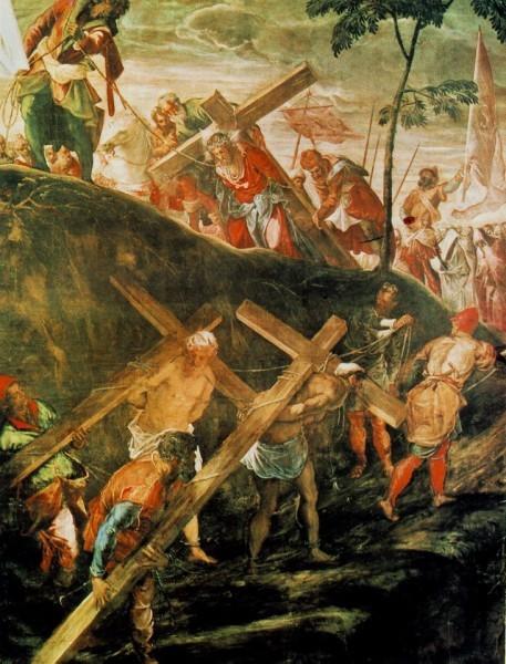 Тиноретто Якопо. Несение креста