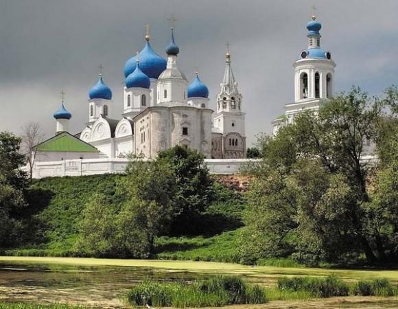 Суздальский район.  Боголюбский монастырь.  Церковь Рождества Пресвятой Богородицы.
