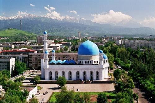 Мечеть в Алм-Ате