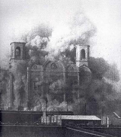 Разрушение храма Христа Спасителя