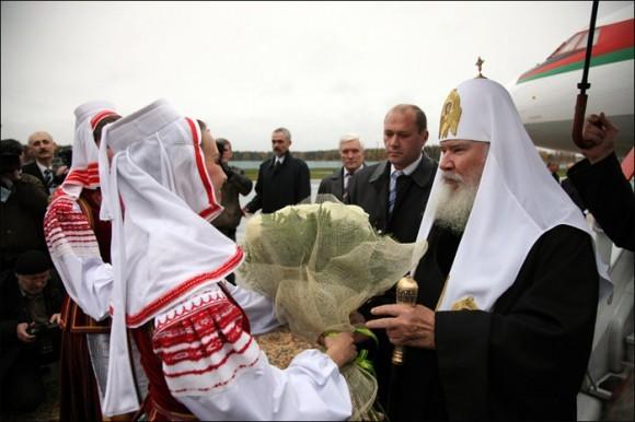 Поездки Патриарха Алексия. Часть 1