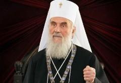 """Святейший Патриарх Сербский Ириней: """"Церковь действует вопреки нынешним временам""""."""
