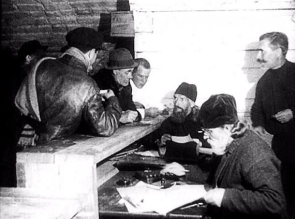 Священники на Соловках